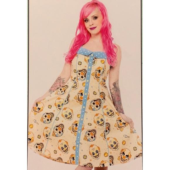 f27e4229b01 RARE NWT Sourpuss Vintage Clowns Peggy Dress